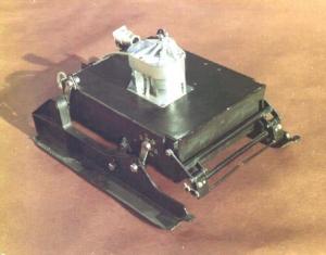 Mars Prop-M rover design, 1971