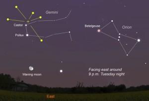 Geminids-2011. Image credit astrobob