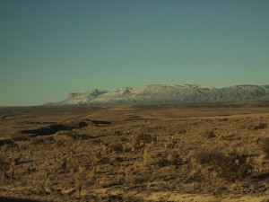 Approaching the Guadalupe peak. Picture credit: Artem Vovk