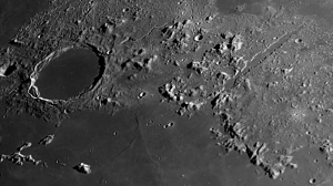 The Moon- an image of Alpine Valley region