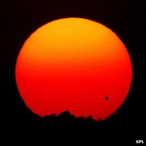 Venus transit on June 08, 2005, credit SPL