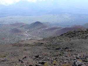 Mauna Kea driving up