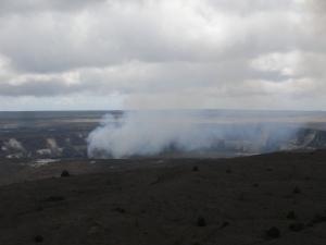 Halema'uma' gas cloud
