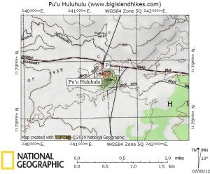 Puu Huluhulu map
