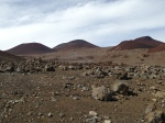 Cinder cones near lake Waiau