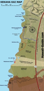 Trail to Makalavena Beach