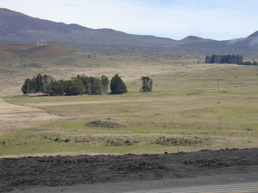 Mile 28, Mauna Kea access road, mile 28 on Saddle Road