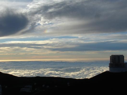 Mauna Kea View from the summit