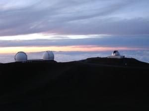 TelescopesSunset3