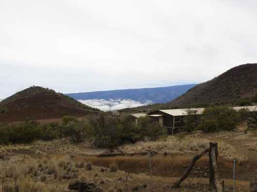A view from the Mauna Kea VisitorCenter